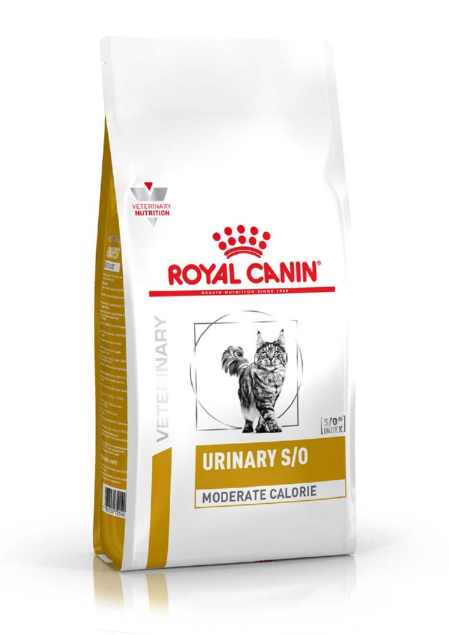 Сухой корм для кошек Royal Canin Urinary S/O Moderate Calorie 1,5 кг фото
