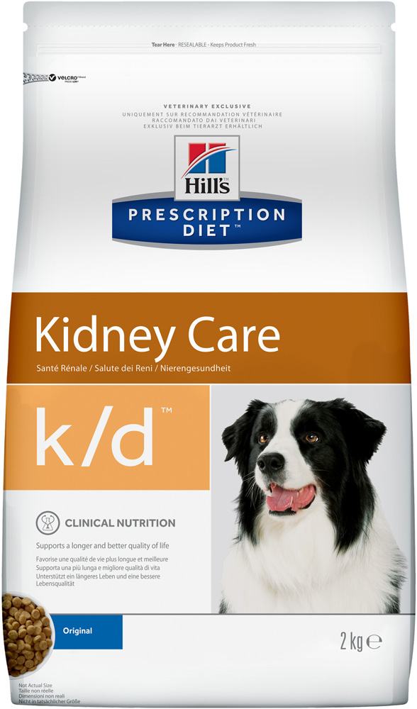 Сухой корм Hills Prescription Diet k/d Canine Renal Health диета для собак 2 кг