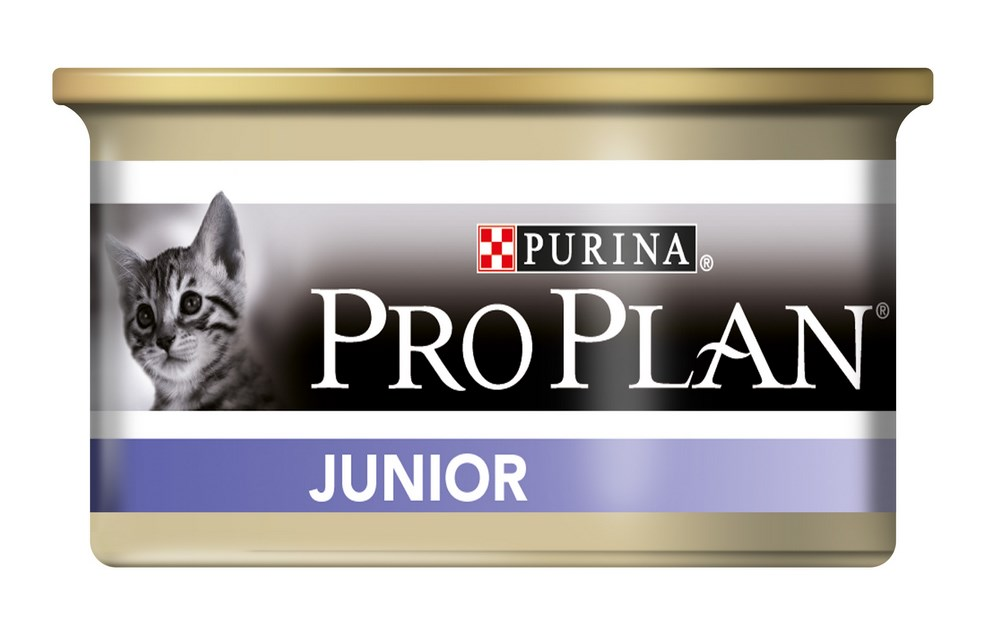 Влажный корм для котят Purina Pro Plan Junior Kitten Feline with Chicken canned 0085 кг.