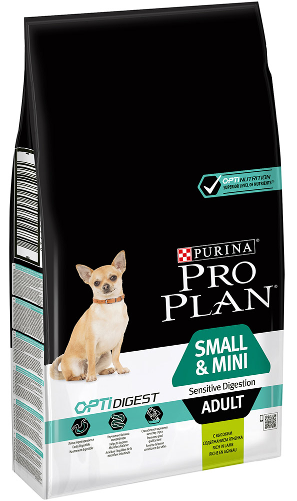 Сухой корм для собак Purina Pro Plan Adult SmallMini Sensitive 7 кг.