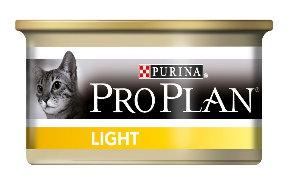 Влажный корм для кошек Purina Pro Plan Adult Light Feline with Turkey canned 0085 кг.
