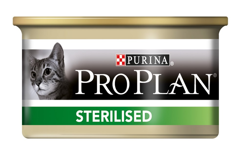 Влажный корм для кошек Purina Pro Plan Sterilised Feline with Salmon canned 0085 кг.