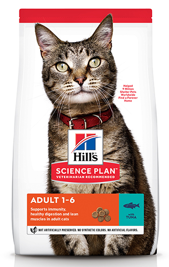 Сухой корм для кошек Hills Science Plan Feline Adult Optimal Care with Tuna 3 кг
